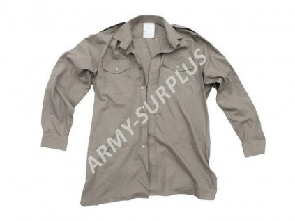 Košile Velká Británie baige,khaki dlouhý rukáv originál