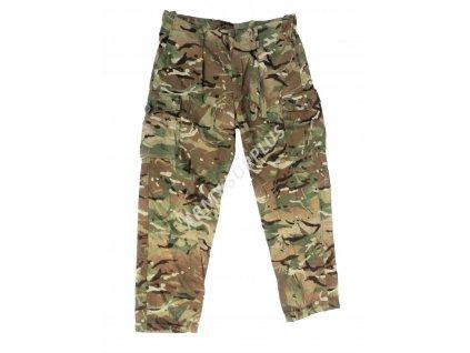 Kalhoty britské multicamo nehořlavé ripstop MTP britské Velká Británie