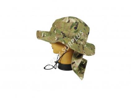 Klobouk britský Jungle Combat Tropical MTP originál Velká Británie nový