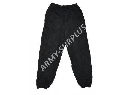Kalhoty US INFU Army pant černé sportovní Skilcraft (šusťáky, tepláky) DSCP