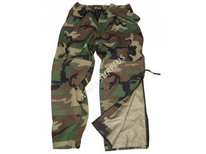 Kalhoty US ECWCS Goretex trilaminát woodland originál