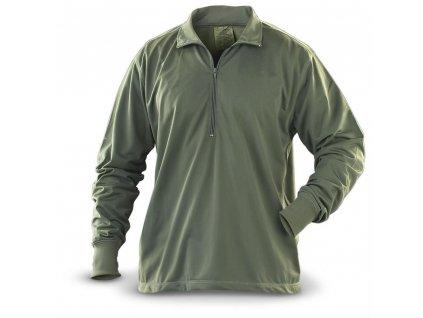 Tričko (triko) termo na spaní US oliv originál