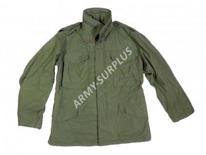 Polní kabát,bunda (parka) M65 oliv originál US-ARMY