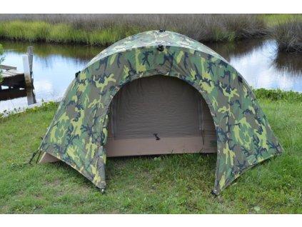 Stan US / USMC Marine Combat Infantry Tent Diamond Brand coyote/woodland dvouplášťový originál