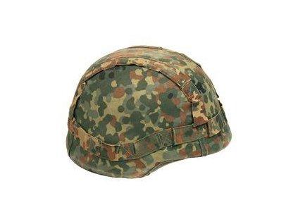 Potah (povlak,obal,převlek) na kevlarovou helmu BW (Bundeswehr) flecktarn
