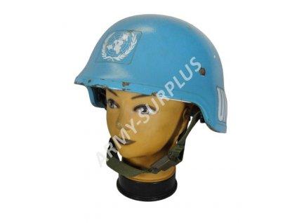 Helma (přilba) kevlarová pancéřová Schuberth AČR UN modrá