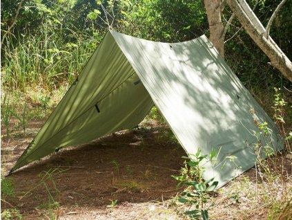 Celta (plachta) Snugpak All Weather Shelter oliv ripstop