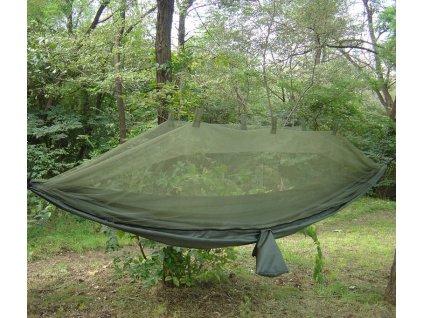 Hamaka Jungle Snugpak s moskytiérou oliv