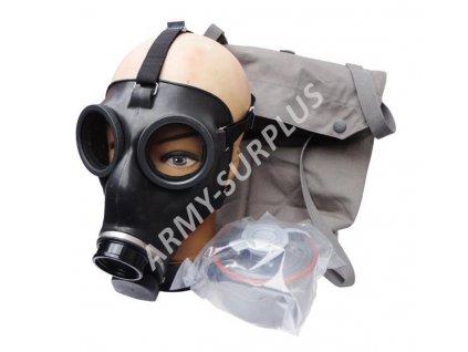 Plynová maska SM67 Švýcarsko
