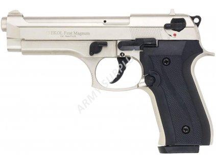 Plynová (expanzní) pistole EKOL FIRAT Magnum 9mm PAK titan satin