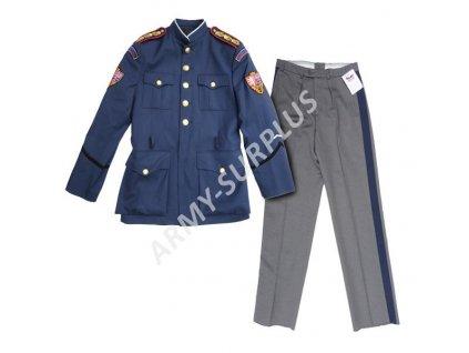 Komplet uniforma hradní stráže AČR s hodností