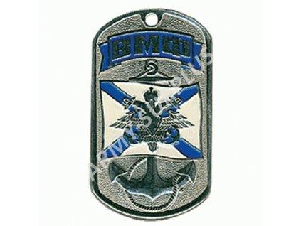 Ruské identifikační známky ID Dog Tags č.15