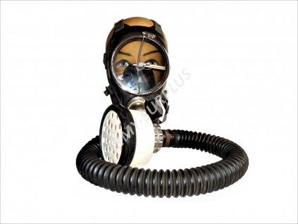 Plynová maska Chirana DM3 se stěračem