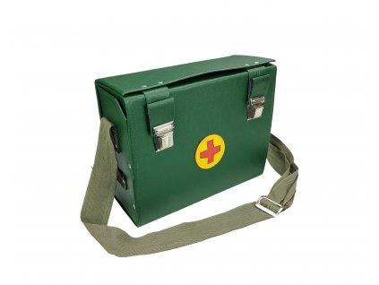 Brašna první pomoci lékarnička Jugoslávie zelená