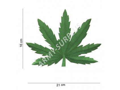 Nášivka Weed (cannabis, leaf, ganja, marihuana) - velká