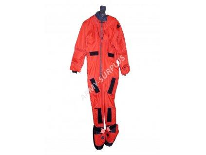 Oblek pro přežití (záchranná nepromokavá kombinéza) Lifeguard Equipment Ltd Velká Británie