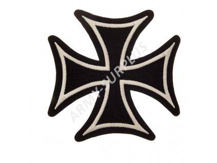Nášivka nažehlovací kříž helvetský - velký