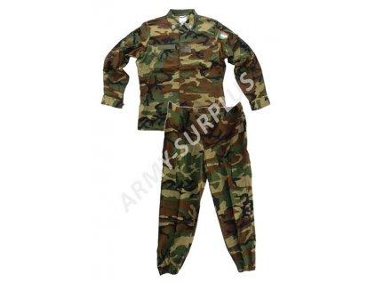 Komplet uniforma (blůza,kalhoty) Itálie Esercito woodland originál