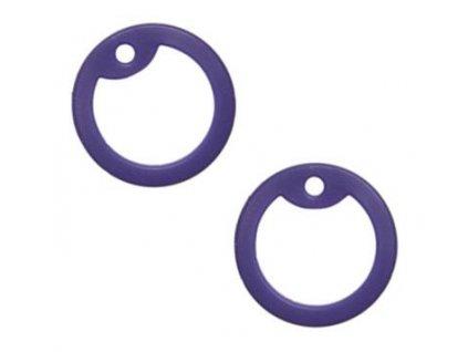 Gumička (tlumítka) silikonová k U.S. DOG TAGS fialová 1ks