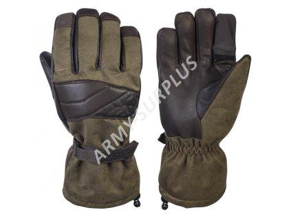 Myslivecké rukavice Holík Evelyn Green Open 8317 - zimní
