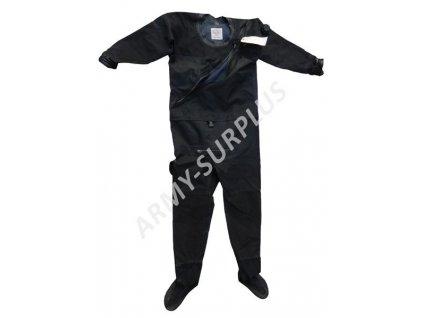 Kombinéza (skafandr) US DUI TLS 350 potápěcí suchý oděv černý