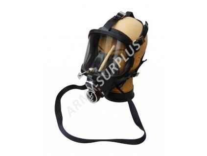 Plynová maska Faser se stěračem