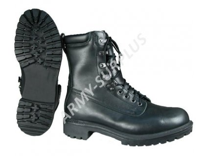 Boty (kanady,Vibram,ECWCS) Velká Británie Boots Cold Weather kožené Gore-tex černé originál