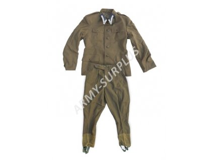 Komplet uniforma (mundur KBW Wojsko) Polsko oliv originál