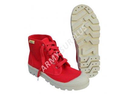 Boty (tenisky, botasky, kecky) červené