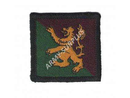 Nášivka Velká Británie 51. pěší brigáda a velitelství Skotsko