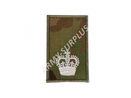 Hodnost výložka (nášivka) Velká Británie MTP Warrant Officer Class 2