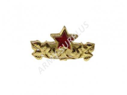 Odznak ČSLA ČSSR generálský zlatavý originál