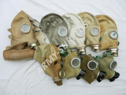 Plynová maska Postapo nebo na náhradní díly