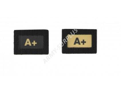A+Glind tape - označení krevní skupiny  ALP FENIX AC-139 velcro suchý zip