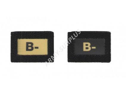 B- Glind tape - označení krevní skupiny  ALP FENIX AC-139 velcro suchý zip
