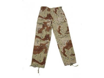 Kalhoty BDU 6-Color Desert (kapsáče)