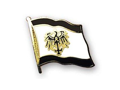 Odznak (pins) 20mm praporek Prusko