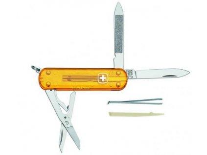 Nůž multifunkční wenger 8 funkcí Translucent 622