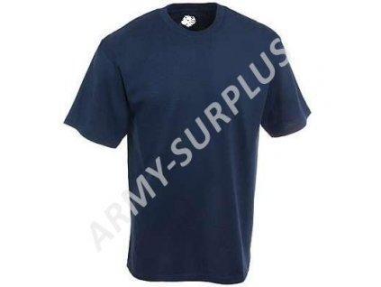 Triko US krátký rukáv Navy modré originál