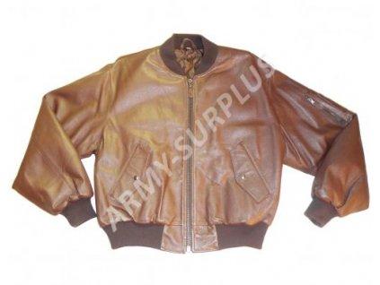 Bunda kožená styl MA1