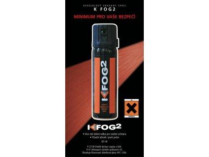 Plyn obranný (pepřový sprej) Fog2 63ml mlha