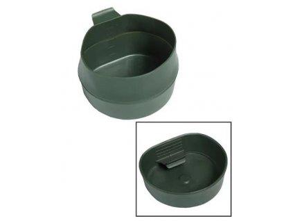 Hrnek oliv Foldacup 600 ml plast skládací Švédsko