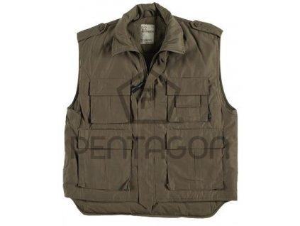 Vesta zimní khaki Truckers Pentagon