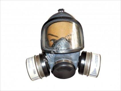 Plynová maska MSA Gas Mask Respirator 7-204-1