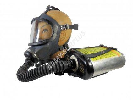 Plynová maska MSA UltraVue M3C2  komplet Gas Mask Respirator