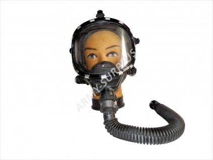 Plynová maska Scott Scottoramic aviator Firefighter Gas Mask Respirator