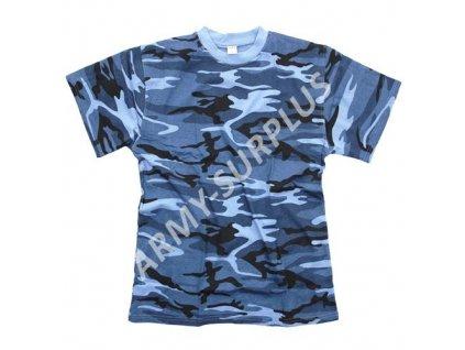 Triko sky blue camo (skyblue)