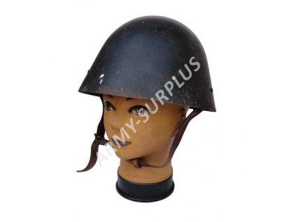 Helma (přilba) ČSLA vz.32 černá (hříbek, vajíčko)
