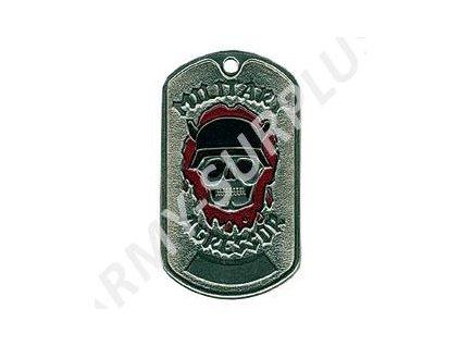 Ruské identifikační známky ID Dog Tags č.26