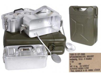 Várnice BW (Bundeswehr) termo na stravu  v kanystru